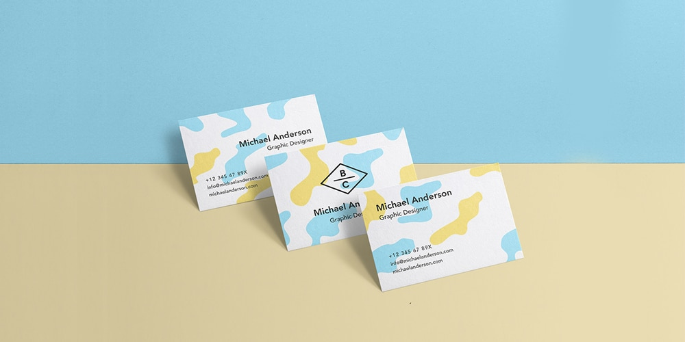 Graphic Designer Business Card Mockup
