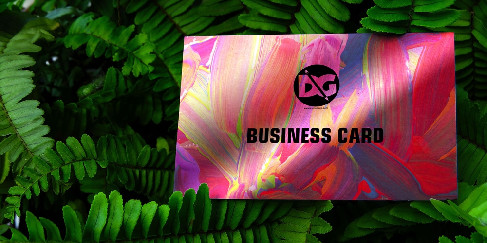 Green Business Card Presentation