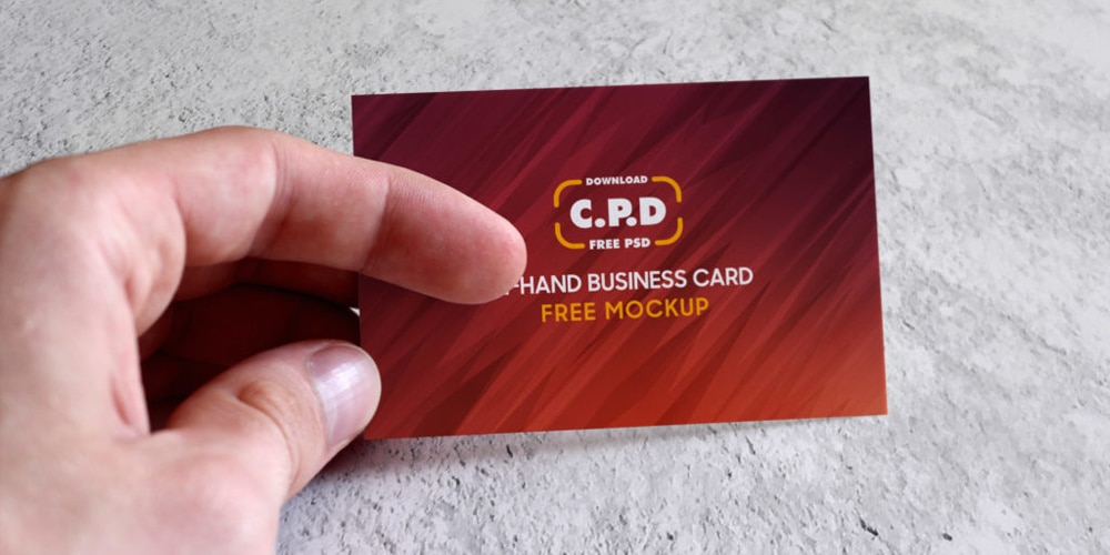 In-Hand Business Card