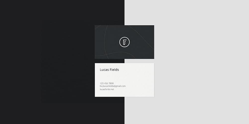 Minimalist Business Card Mockups