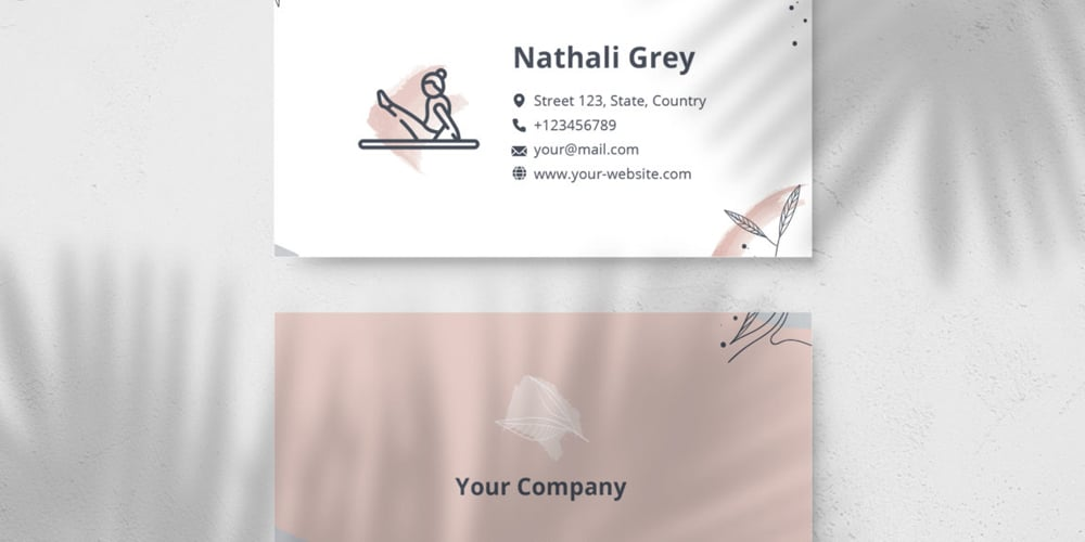 Photo Realistic Business Card Mockup