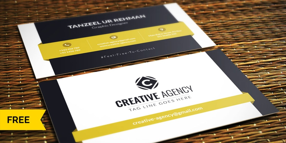 Pro Business Cards Design PSD