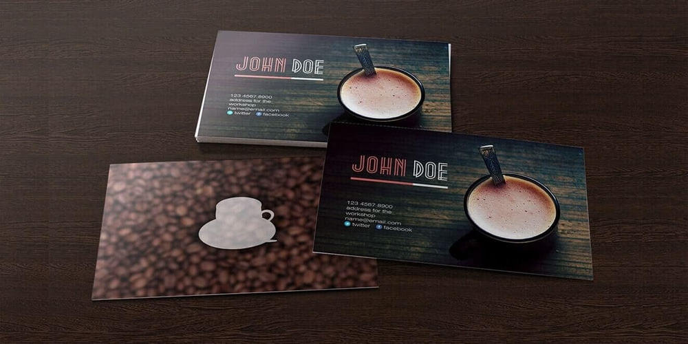 Simple Business Card Mockup