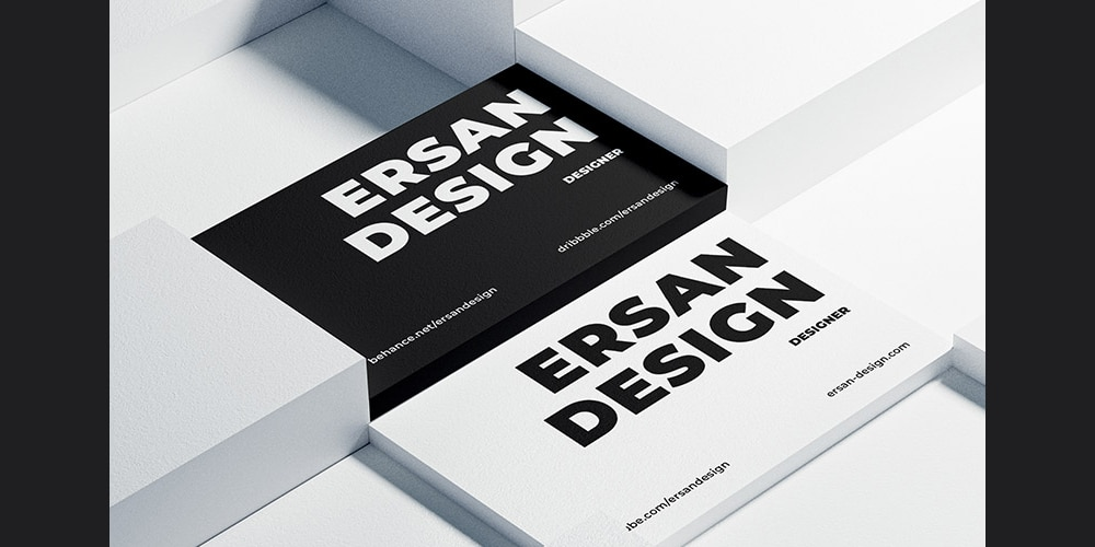 Textured Paper Business Card Mockups