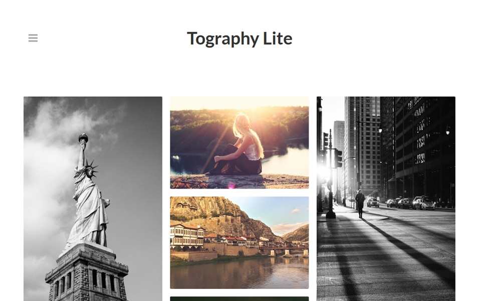 Tography Lite Responsive WordPress Theme