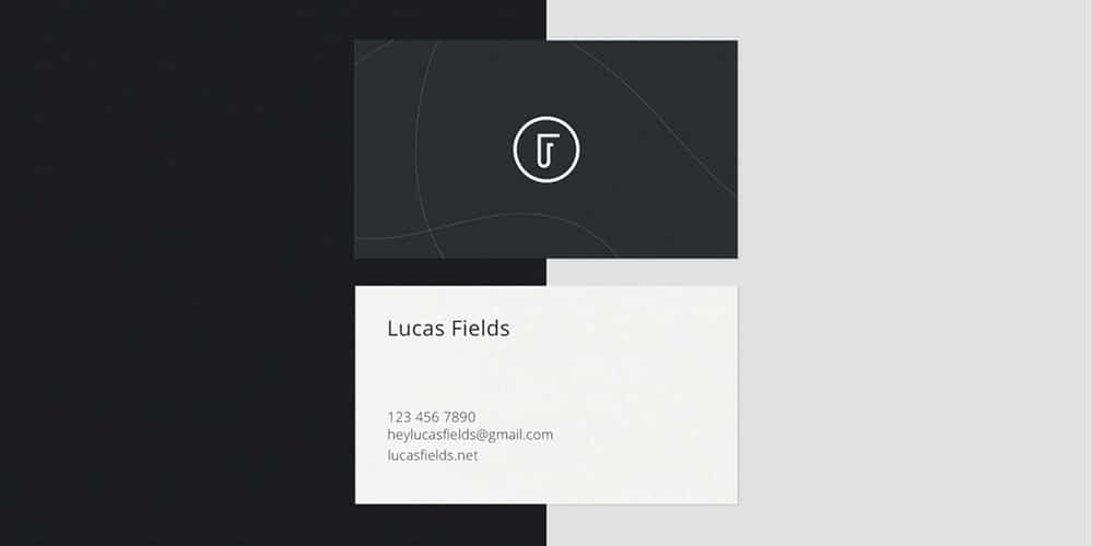 Ultra Minimalist Business Card Mockups