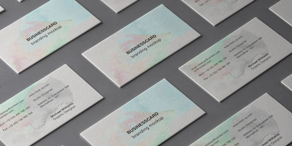 Simple and Beautiful Business Card Mockup