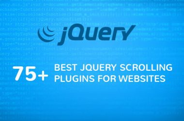 75+ Best jQuery Scrolling Plugins for Websites