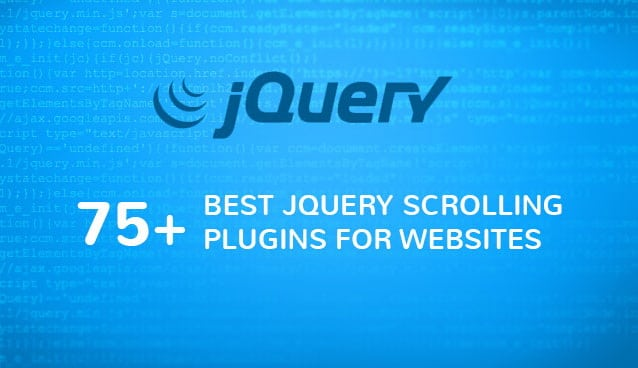 75 Best JQuery Scrolling Plugins For Websites CSS Author