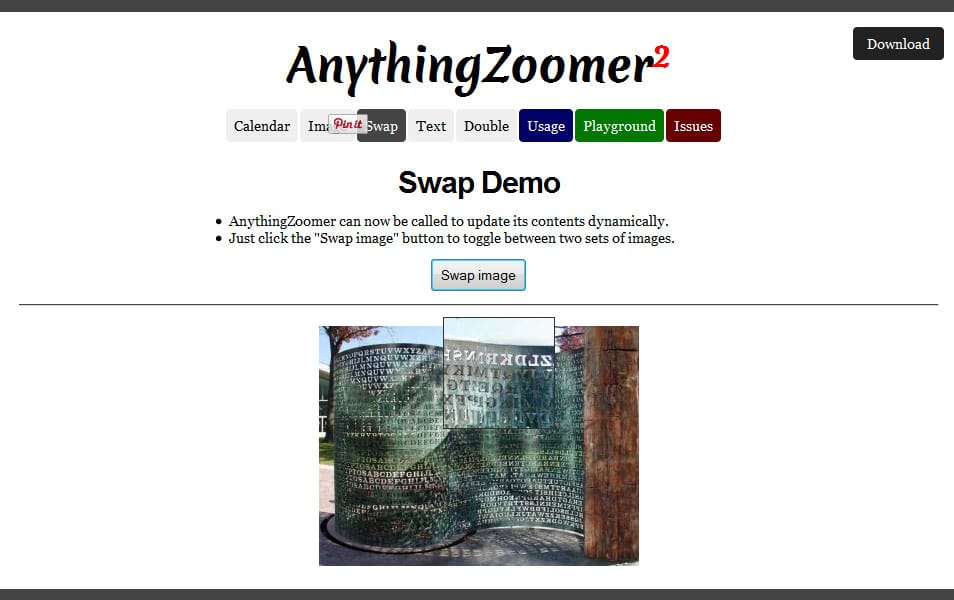 AnythingZoomer jQuery Plugin