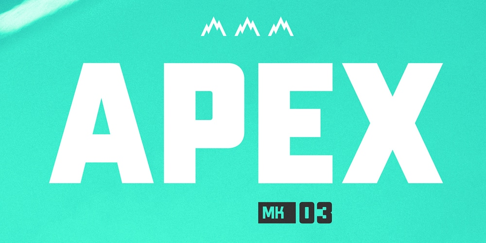 Apex Mk3 Display Typeface