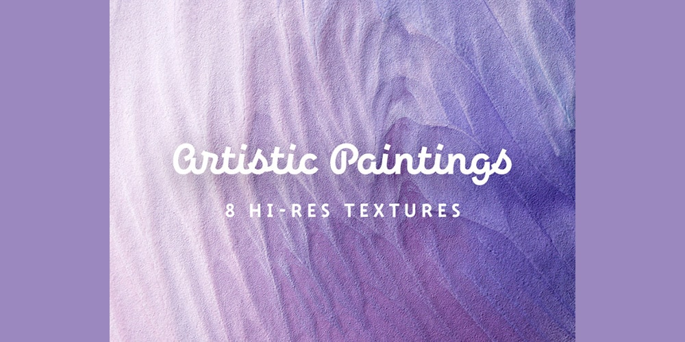 Artistic Painting Textures Set