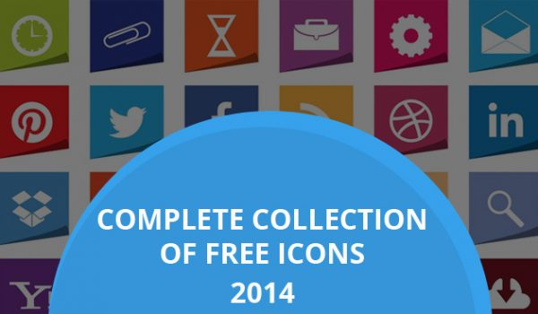 Complete Collection Of Free Icons 2014
