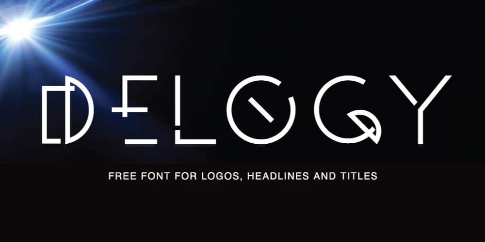 Delogy Display Font