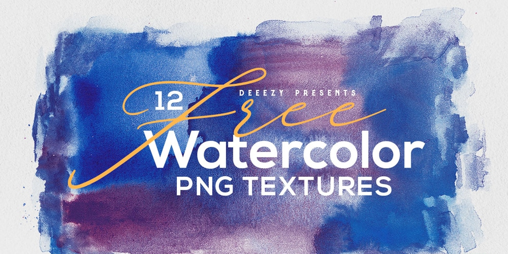 Free Abstract Watercolor Textures