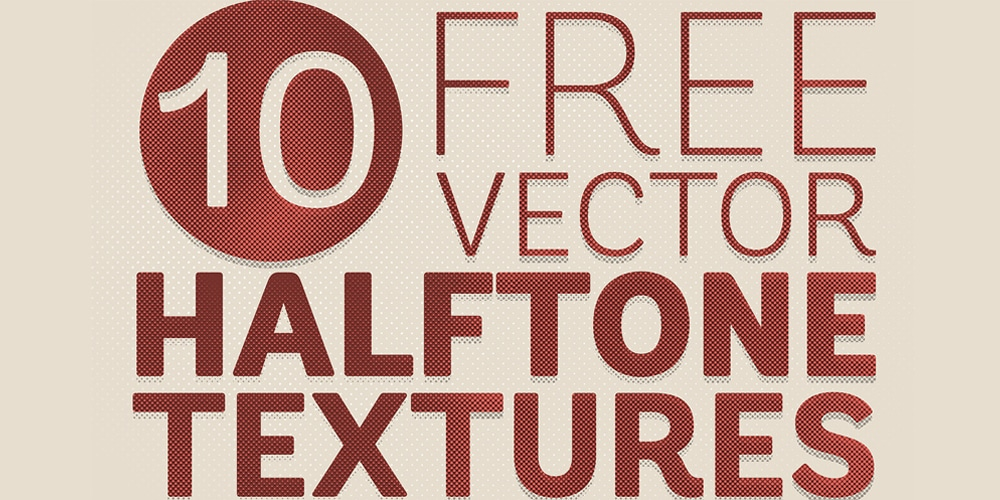 Free Detailed Vector Halftone Texture