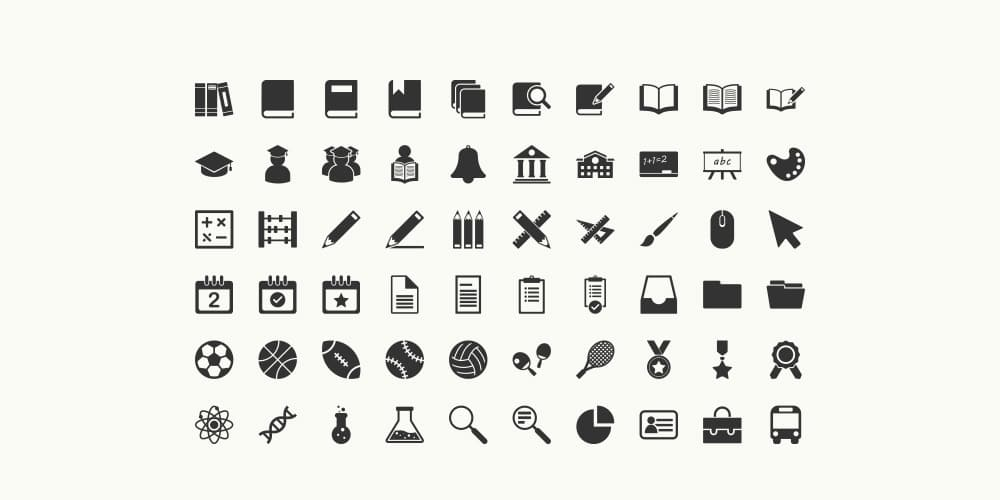 free icons for website