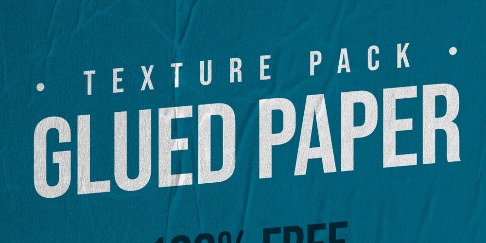 Free Glued Paper Texture