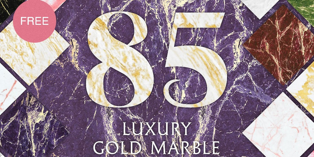 Free Gold Marble Textures