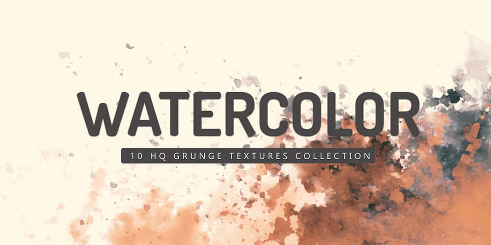 Free Grunge Watercolor Textures