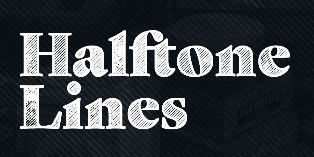 Free Halftone Lines Textures