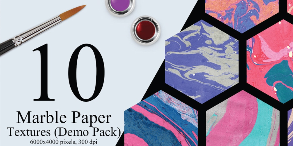 Free Marble Ink Paper Textures