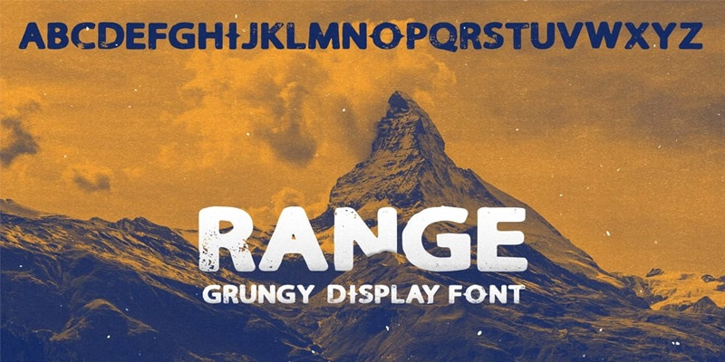 Free Range Sans Display Font