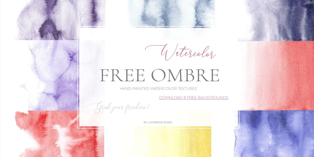 Free Watercolor Ombre Textures