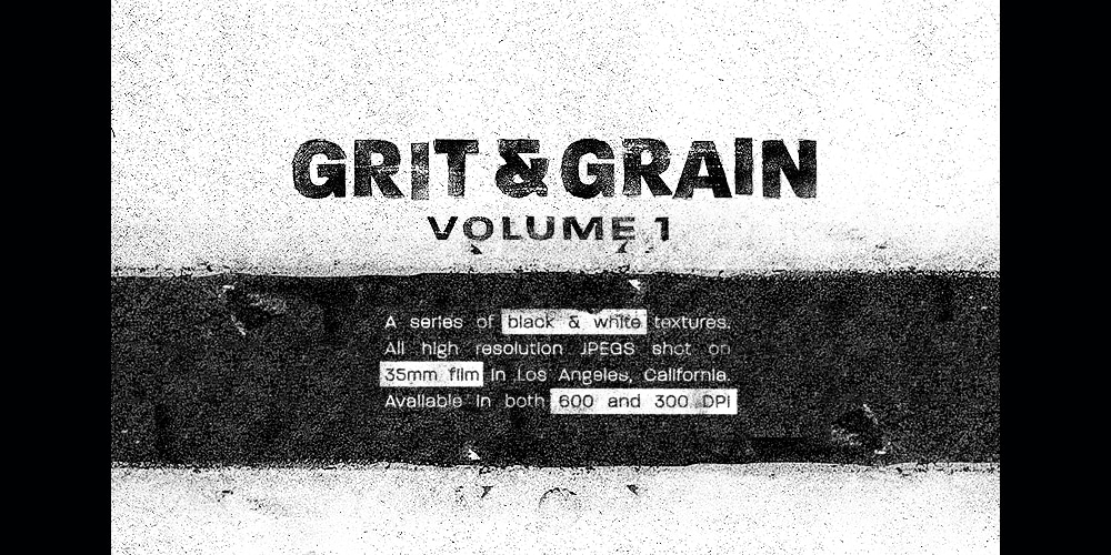 Grit and Grain Textures