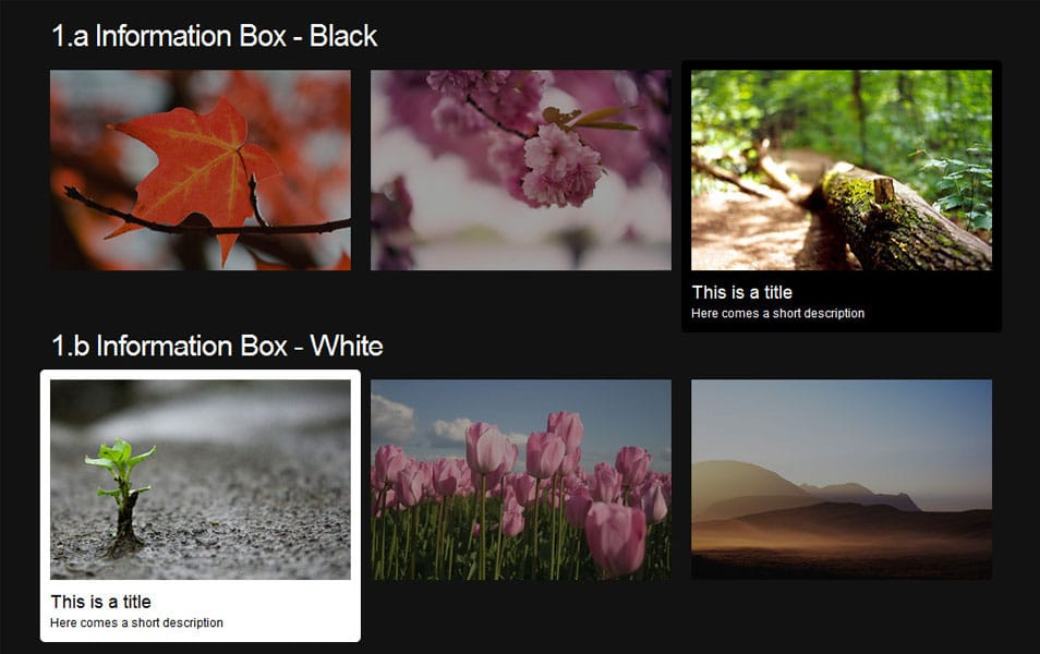 HoverMe - Collection of CSS3 Hover Effects