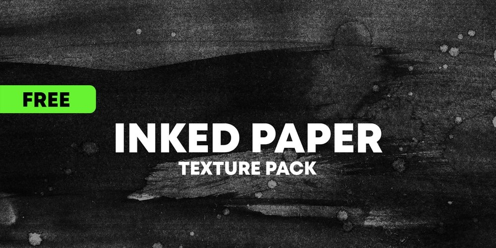 Inked Paper Textures