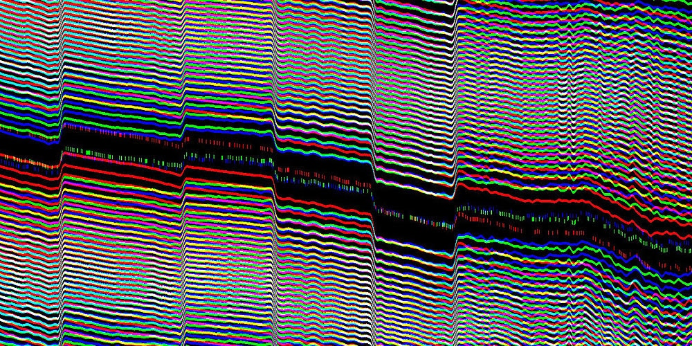 Modulation and Demodulation Glitch Textures