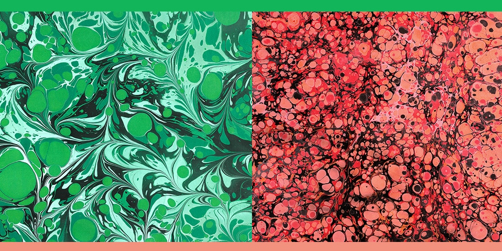 Paper Marbling Textures