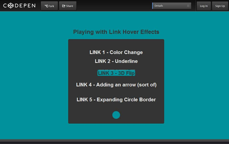 Playing with Link Hover Effects