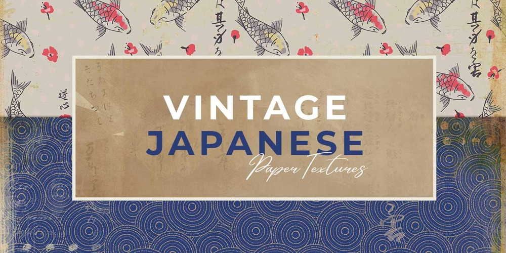 Vintage Japanese Paper Textures