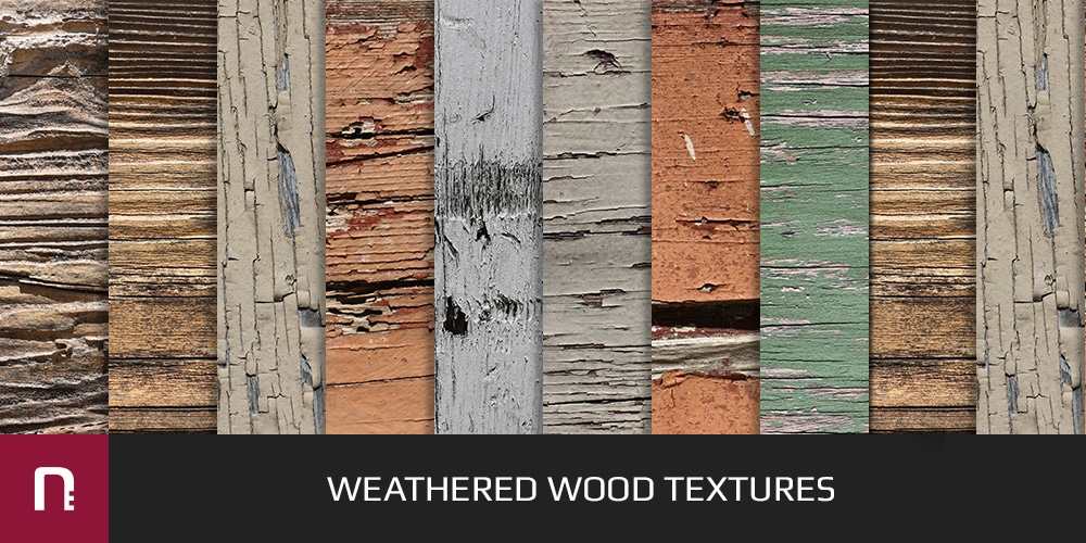 Weathered Wood Textures