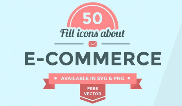 50+ Ecommerce Icon Set - cssauthor.com