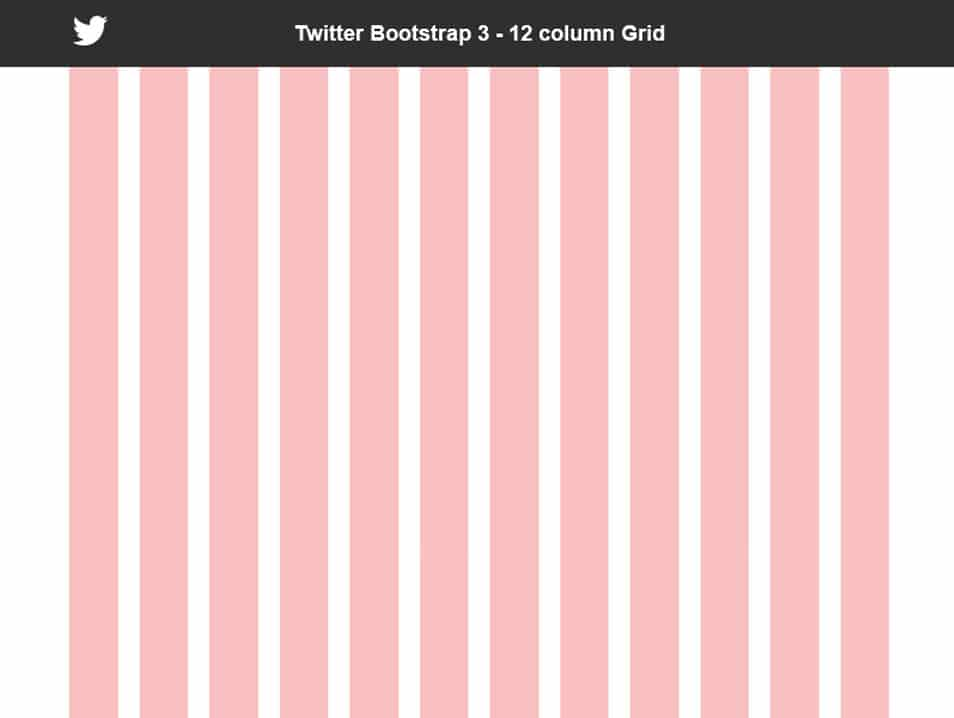 Bootstrap 3 Grid - 12 Column - Free PSD
