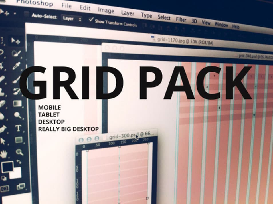Bootstrap Grid pack PSD
