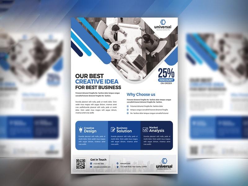 Best free flyer templates psd css author corporate business flyer template psd saigontimesfo