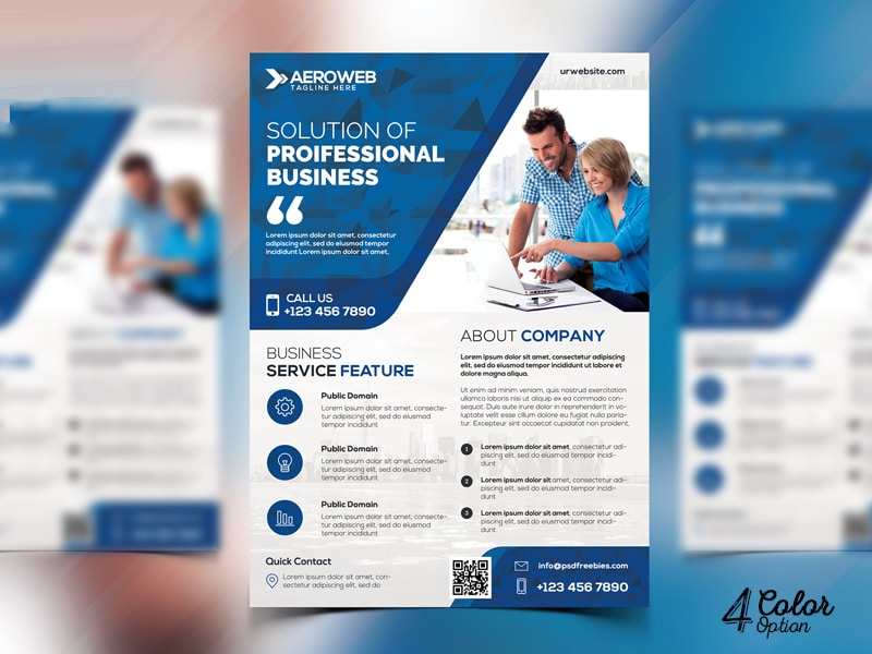 Best Free Flyer Templates Psd  Css Author