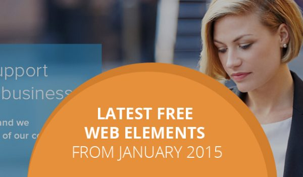 Latest Free Web Elements From January 2015