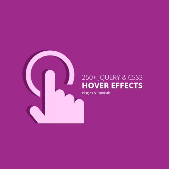 jQuery and CSS3 Hover Effects