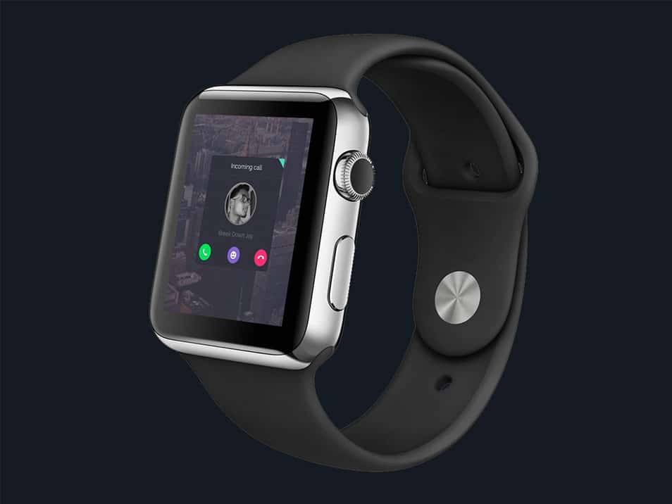 Apple I Watch Fun Experiment FREE PSD