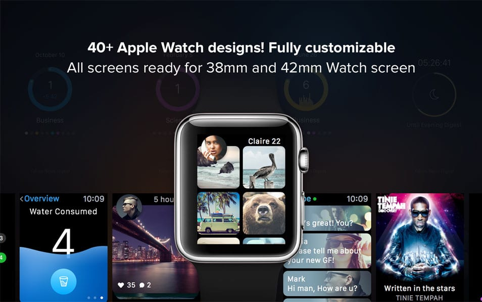 Apple Watch Apps GUI 2.0