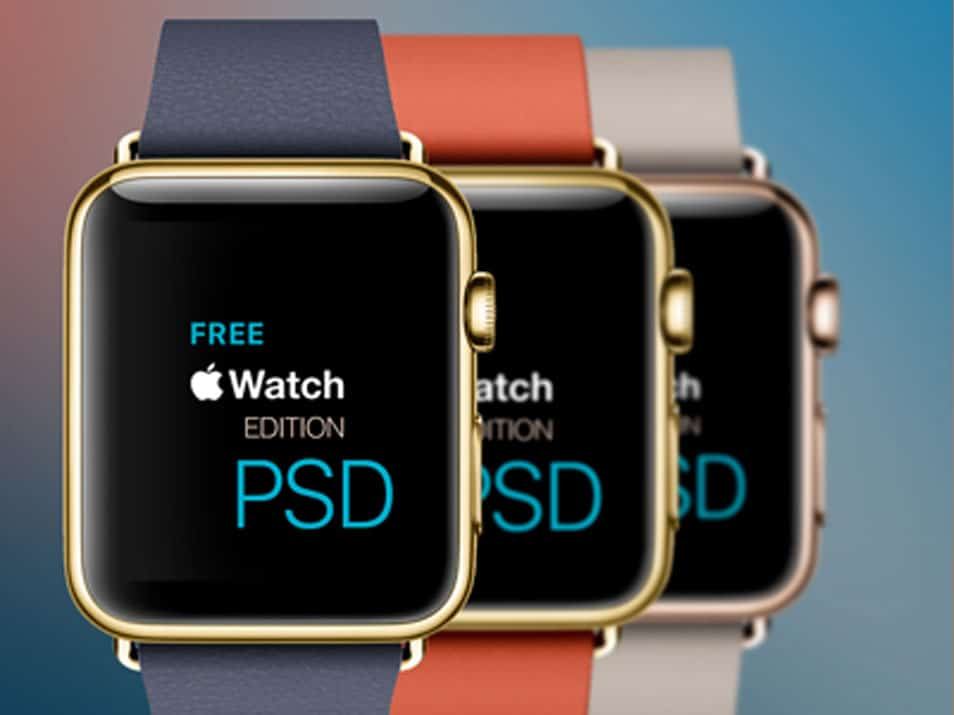 "Apple Watch ""Edition"" PSD"