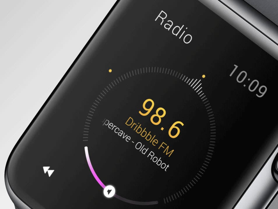Apple Watch Radio Animation Freebie