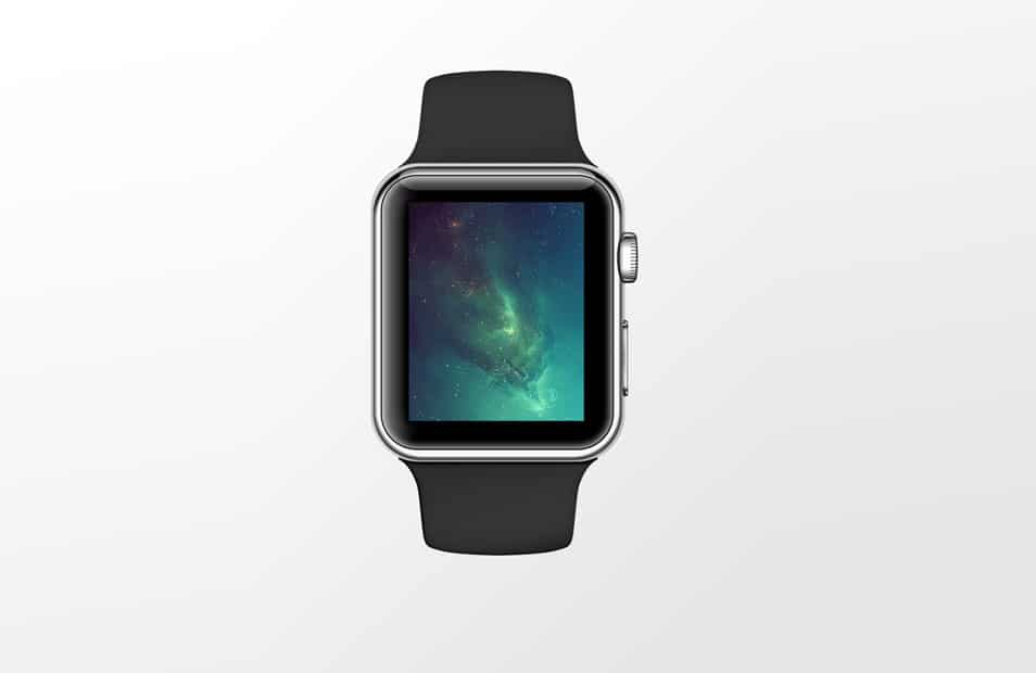 Apple Watch Sport PSD Mock-Up