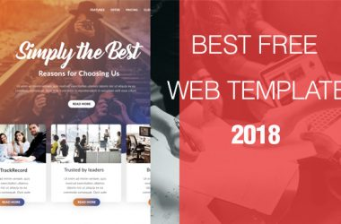 Best Free Web Templates 2018
