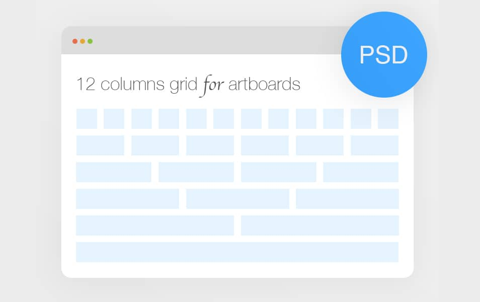 25+ Bootstrap Grid System PSD Templates » CSS Author